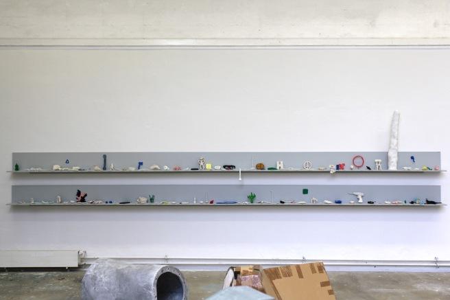 Ausstellungsansicht Jahresausstellung 2012